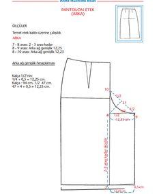 Tarz-ı Zeyneb: Tasarımlarım - Sewing Shorts, Diy Shorts, Sewing Clothes, Circle Skirt Pattern, Pants Pattern, Pattern Cutting, Pattern Making, Dress Sewing Patterns, Clothing Patterns