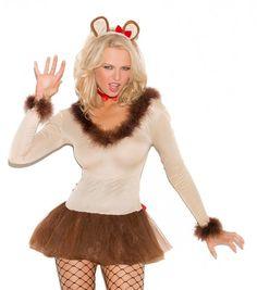 Lion Halloween Costume Large L Women Sexy Adult Wizard of Oz Lioness Lion Halloween Costume, Cat Costumes, Costume Ideas, Wizard Of Oz, Tween, Skater Skirt, Fashion Show, Sexy Women, Cowardly Lion