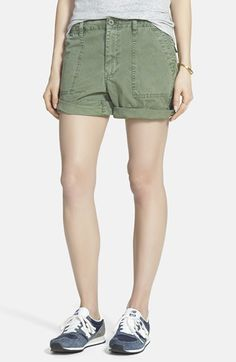 Madewell Fatigue Shorts available at #Nordstrom