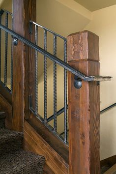 103 Sawmill Road - rustic - Staircase - Denver - Pinnacle Mountain Homes