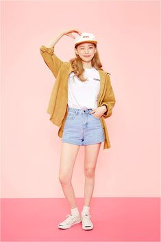 Fall Feeling Color Shirt | Korean Fashion
