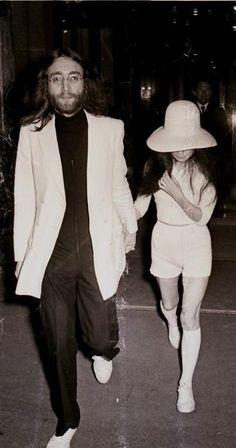 John and Yoko <3
