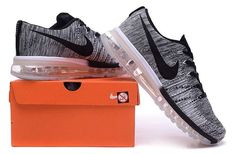 Cheap Nike Flyknit Air Max Sale - New Nike Air Max Flyknit Black White Shoes Clearance Black And White Shoes, Grey Shoes, Nike Shoes 2017, Nike Air Max Sale, Air Max Style, Air Max Sneakers, Men Sneakers, Kid Shoes, Men's Shoes