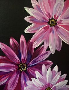 Hey! Check out Purple Daisy Blooms at Shamrocks Pub and Grill Whitby - Paint Nite