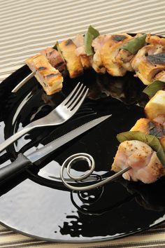 Spiedino Tondo #igenietti Finalmente uno spiedino che entra nel piatto!