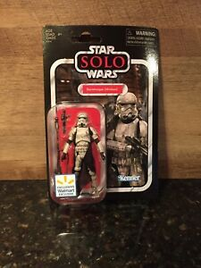 STAR WARS SOLO VC123 VINTAGE COLLECTION STORMTROOPER MIMBAN WALMART EXCLUSIVE