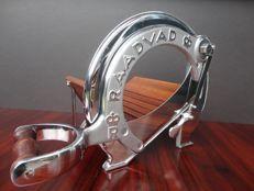 Raadvad - Silver / Chrome Vintage bread slicer 1940/50`s