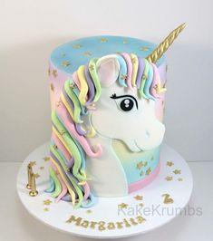 A single cake – inspiration torten – Cake Unicorne Cake, Cupcake Cakes, Fondant Cake Toppers, Cake Inspiration, Pony Cake, Unicorn Birthday Parties, Birthday Cakes For Girls, 5th Birthday, Girl Cakes
