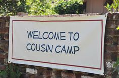 Cousin Camp: Making Family Memories for the Grandchildren