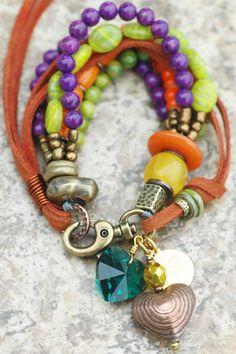 XOGALLERY.COM | Heart Charm Bracelet, XO Gallery | JOYAS... que me inspiran !!!