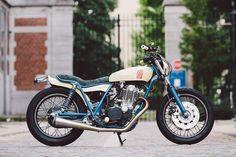 ϟ Hell Kustom ϟ: Yamaha SR500 By Kruz Company