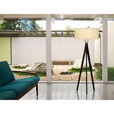 @Overstock - Add a contemporary flair to your room with this stunning adjustable floor lamp. The three-bulb lamp features a white lampshade and a dimmer switch so you can adjust the amount of light it sheds.http://www.overstock.com/Home-Garden/Nova-Lighting-Tripod-Floor-Lamp/6353828/product.html?CID=214117 $389.98