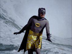 Im sure he has the Bat shark repellent spray in his utility belt