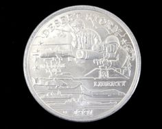 """1991 Uncirculated Desert Storm """"M-109 TOW Missile"""" Commemorative Coin from the New Queensland Mint!. Starting at $15"""