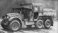 Morris CDSW. Where the Scammell Pioneer R100 was used to tow the biggest artillery guns in the British Army, mid caliber weapons like the 18 pdr, 25 pdr, and 4.5 inch howitzer were towed by the prewar era CDSW. As the war progresses it was also the Bofors 40mm AA gun.