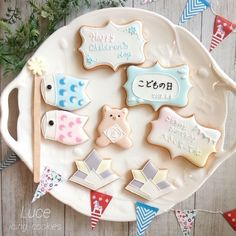 こいのぼり☆端午の節句アイシング☆アイシングクッキー教室Luceルーチェ