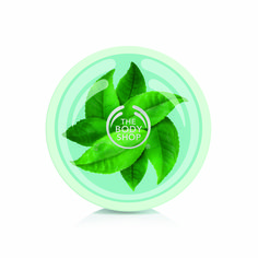 The Body Shop Fuji Green Tea Body Butter, Replenishing Body Moisturizer, Oz. Body Butter, Shea Butter, Best Anti Aging, The Body Shop, Fuji, Plant Leaves, Moisturizer, Tea, Crisp
