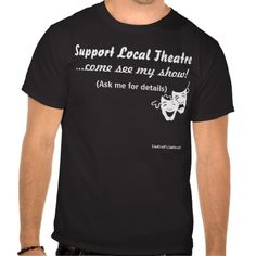 We need these shirts in drama