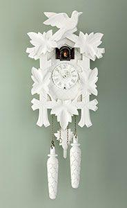 Modern Art Cuckoo Clocks Modern Tradition Cuckoo Clock Quartz-movement Modern-Art-Style 34cm by Trenkle Uhren