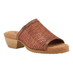 6117965e0b51 Walking Cradles Women s Cape Woven Heeled Slide