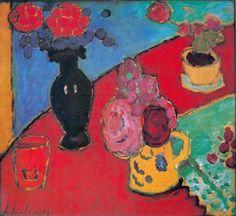 Alexej von Jawlensky, Still Life with Vase and Jug, n.d.