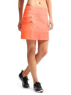 Tee Time Skort - Enjoy your tee time out on the green with wicking Pilayo® eadb9403b74a