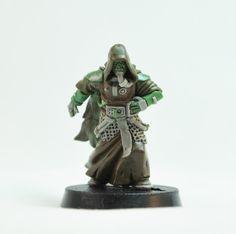 Miniatures of the North: Techno Communion Mold 1 Sculpts
