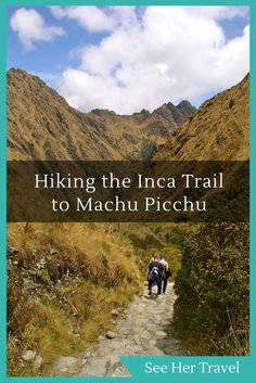 The Inca Trail in Peru is one of the ultimate Bucket List items for many travelling trekkers. And it really is an amazing experience culminating at the formidable Machu Picchu! Peru Travel, Solo Travel, Travel Tips, Travel Guides, South America Destinations, South America Travel, Travel Destinations, Machu Picchu, Ecuador