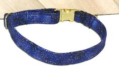 Blue & Gold Metallic Dot Collar for Dogs or Cats With Black Standard Buckle/ Metal Buckle Upgrade/ Leash Upgrade by UppityPuppitys on Etsy Cat Accessories, Girl And Dog, Cat Collars, Metal Buckles, Ribbon Bows, Blue Gold, Friendship Bracelets, Dog Cat, Metallic