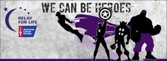 Relay For Life: We Can Be Heroes - Avengers  www.relaywallpapers.blogspot.com