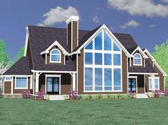 Eplans Craftsman House Plan - Six Bedroom Craftsman - 4783 Square Feet and 6 Bedrooms(s) from Eplans - House Plan Code HWEPL66998