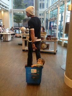 Jared Padalecki shopping