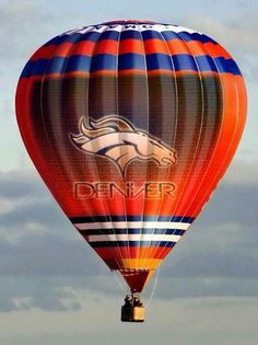 Broncos country!! Not a fan of Broncos however is there a Kansas City Chiefs hot air balloon??