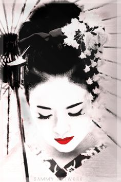 japanese art geisha - Google Search