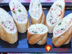 Namiesto obyčajných obložených chlebíkov: 9 tipov na rýchle pohostenie z pečiva, ktoré chutí výborne! Sushi, Food And Drink, Bread, Ethnic Recipes, Google, Brot, Baking, Breads, Buns