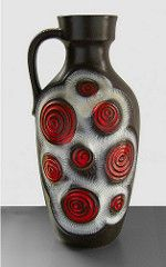 Bay 85-50 - Floor Vase (Fat Lava Wadersloh) Tags: west lava bay fat german pottery wgp westgermanpottery