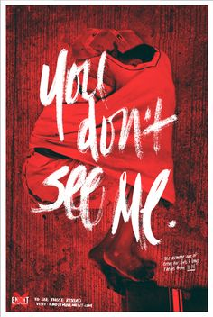 """""""End It Movement""""   Human Trafficking Poster Campaign   Designer: Kristen Witherspoon   Image 3 of 3"""