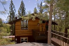 Buck Haus is a dog friendly North Lake Tahoe vacation rental with a Lakeview, new hot tub and a great central location.  $265-$365 per night