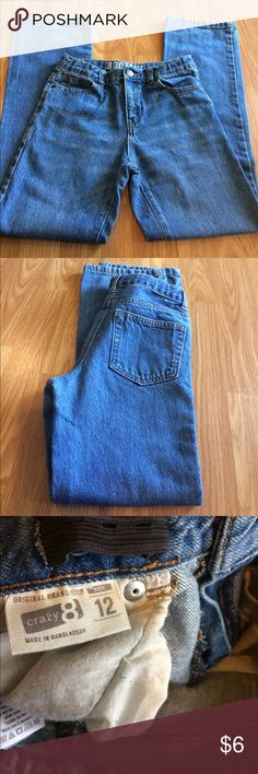 Crazy 8 Bootcut Size 12 Jeans GUC!!! No holes, rips, or stains. Bootcut. Great to start back to school! Crazy 8 Bottoms Jeans