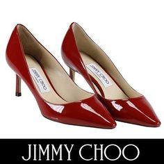 Jimmy Choo パンプス ジミーチュウ セール! ROMY 60 艶めくエナメルパンプス