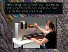 Lexi Model FeltLOOM