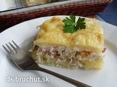 Fotorecept: Zapekaný karfiol - Toto jedlo má tú výhodu, že zužitkujeme všetko čo nájdeme v chladničke alebo v komore