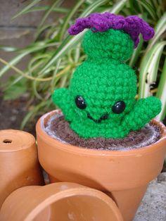 Masaka, the Amigurumi Cactus pattern by Hannah Daley