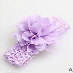 Girls Lace Hair Accessories Baby Girl Chiffon Flower Headband
