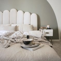 SAGED, muted olive green paint color by Backdrop. Best Bedroom Paint Colors, Green Paint Colors, Olive Green Paints, Sound Proofing, Glasgow, Backdrops, Ottoman, Chair, Inspiration
