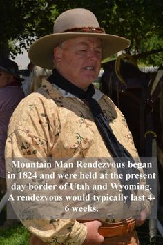 What's a Mountain Man Rendezvous? from AMothersShadow.com #history