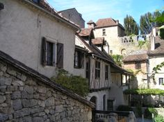 Saint Cirq Lapopie.