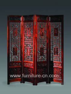 chinese screens room dividers | Be Vogue with a Chinese Folding Screen