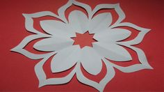 Paper cutting how to make easy simple paper cutting flower design how to make simple easy paper cutting flower designs paper flowerdiy mightylinksfo