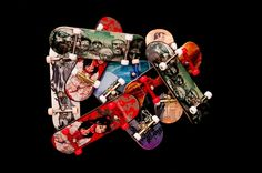 Complete Graphic Fingerboard (Set-Up)